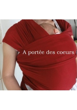 Strechy merino wool babywrap Mother free