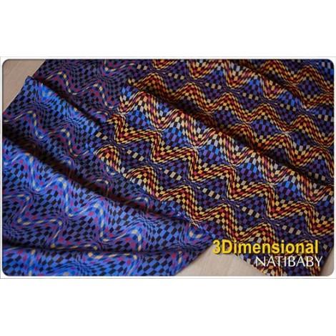 Tissu Three dimensional 100% coton